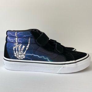 Vans Sk8-Mid Reissue V Bones Lightning Sneakers
